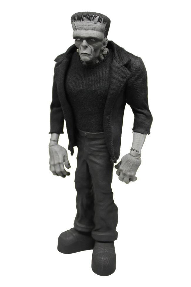 Mezco's Black & White Variant Frankenstein for NYCC