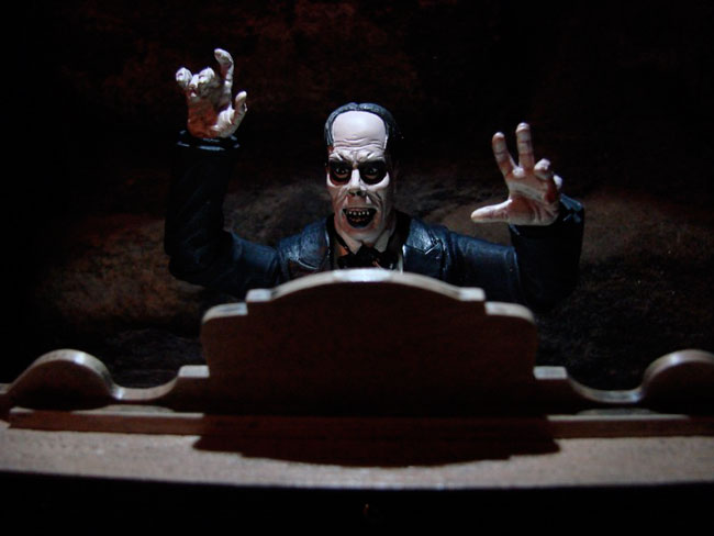 Universal Monsters 7-inch Figures and Minimates in Action