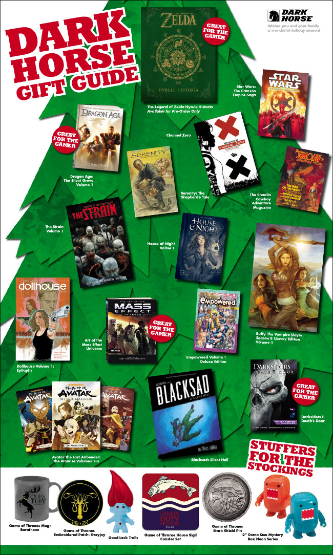 Dark Horse Holiday Gift Guide