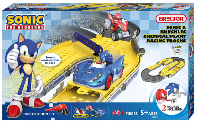 sonic the hedgehog erector sets