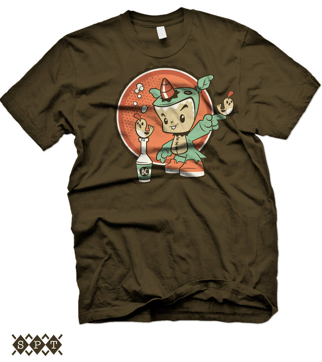 Bitta Critta T-shirt by Scott Tolleson from outsmART originals