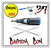 customcon 37 logo